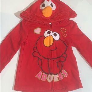 4t Elmo hoodie